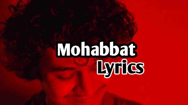 mohabbat karte tumse kaam bhari lyrics