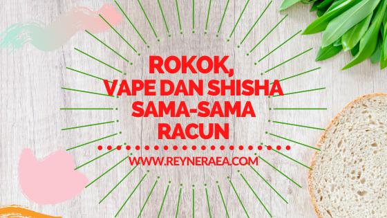 Terungkap, Rokok, Vape Dan Shisha Sama-Sama Racun Bagi Tubuh