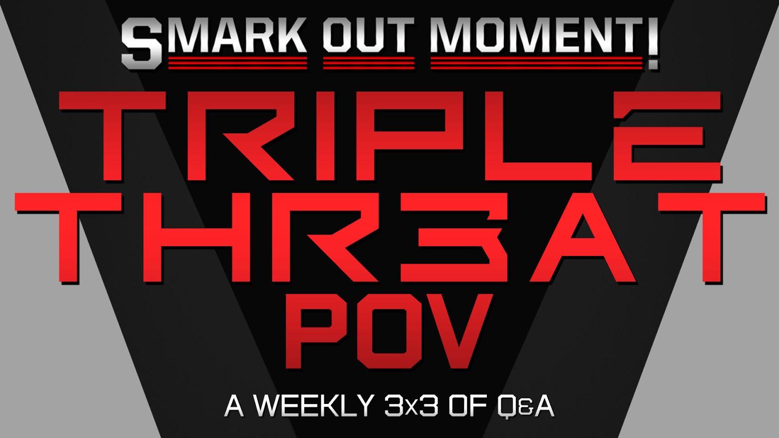 WWE Triple Threat Review logo segment