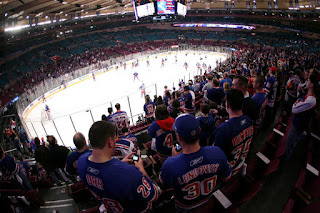 Assister à un match de hockey sur glace de la NHL à New York au Madison square garden