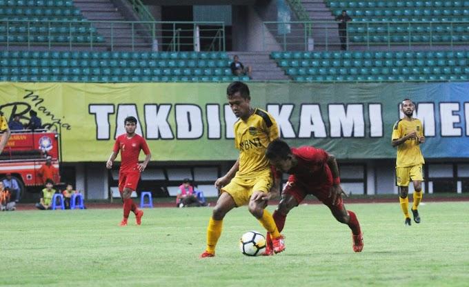 LAGA PERSAHABATAN TIMNAS U-22 MELAWAN BHAYANGKARA FC