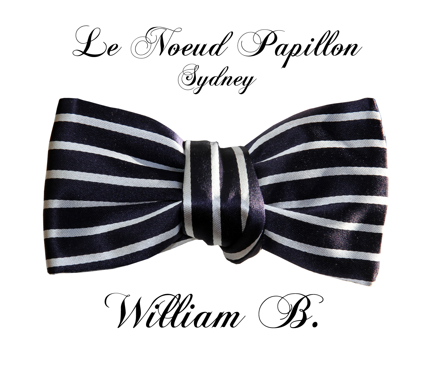 ba71e445b40b7 Introducing The New William B. Bow Tie From Le Noeud Papillon Sydney