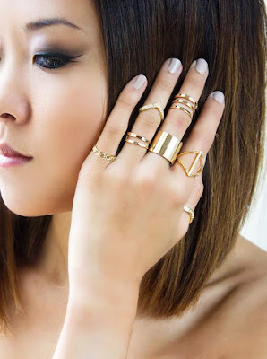 Lyst, Rose Gold Rings, Fashion Jewelry, Rose Gold, Rings, UK bloggers Style