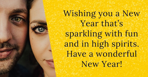 New Year 2021 SMS Wishes for Husband