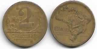 2 cruzeiros, 1947