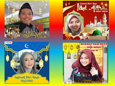 GRATIS 30 Link Twibbon Keren Ucapan Selamat Hari Raya Idul Adha 1442 H