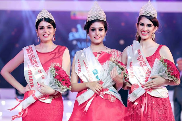 Winners of Miss Queen of India 2018 |  Lekshmi Menon Won the title