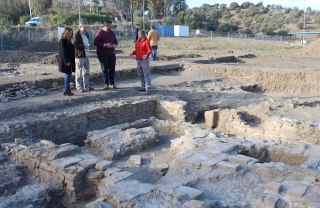 Roman remains found at Mijas on the Costa del Sol