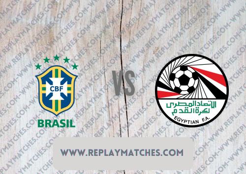 Brazil U23 vs Egypt U23 -Highlights 31 July 2021
