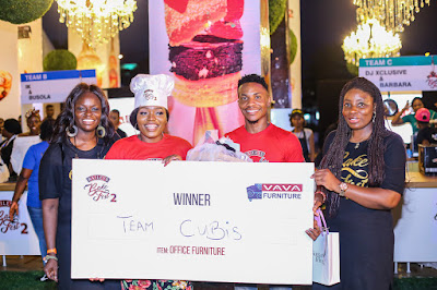 Ex-Big Brother Housemate, Bisola Aiyeola's #TeamCubis wins Baileys Bakefest 2
