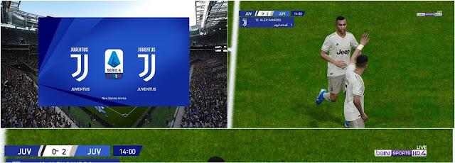 PES 2020 Scoreboard Serie A TIM by Ahmed Ramadan