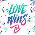 Una fuente libre de igualdad de derechos Love Wins | FreeFont
