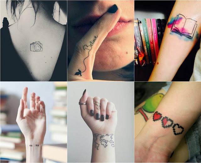 Tatuagens minimalistas (com 24 imagens apaixonantes!)