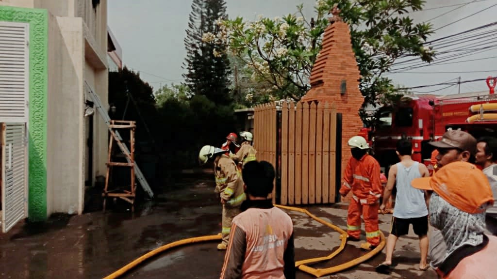 Rumah Kebakaran, Opick Tombo Ati: Hanya Ruang Kosong