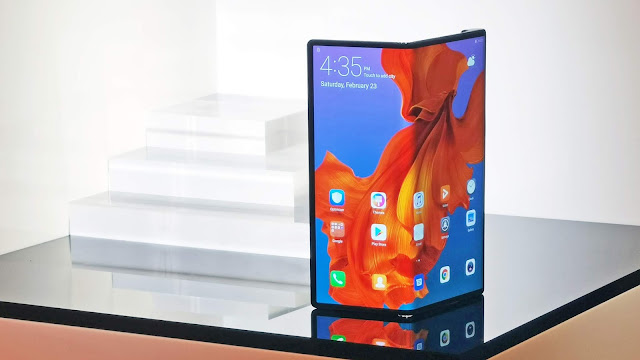 Huawei Mate X foldable cell phone