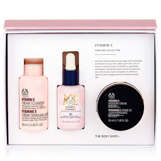 the body shop vitamin e gift set