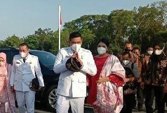 Menantu Jokowi Resmi Dilantik Jadi Wali Kota Medan
