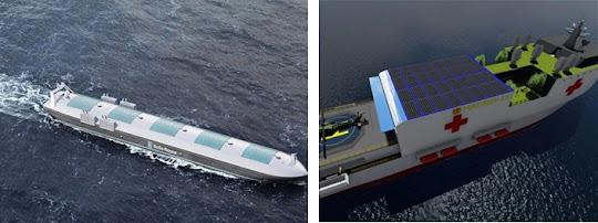 Penggunaan solar panel pada MASS (kapal tanpa awak)
