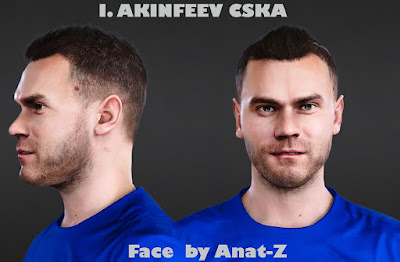 PES 2021 Faces Igor Akinfeev by Anat-Z