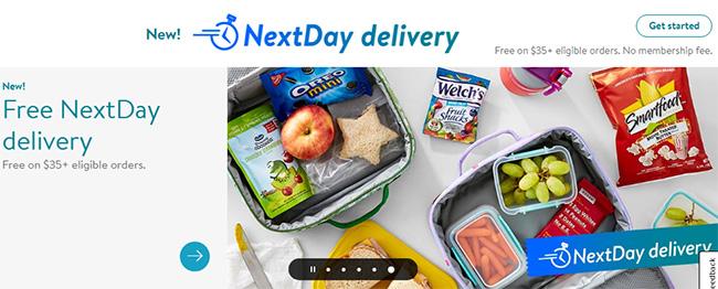 أشهر مواقع التجارة الالكترونية العالمية، وول مارت، Walmart