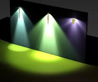 ies lights rendering