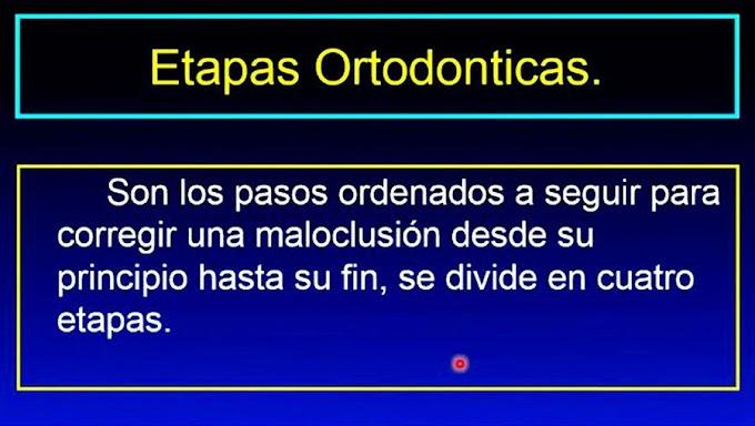 WEBINAR: Etapas de la ORTODONCIA - Dr. Javier Trejo