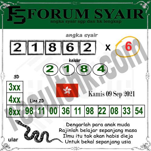 Forum syair hk Kamis 09 September 2021