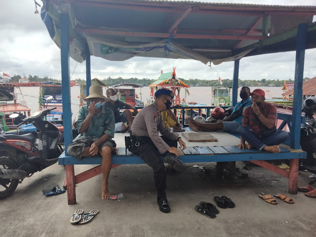Penertiban Cegah Premanisme Di Pelabuhan Sampit