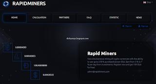 Cari Bitcoin Gratis Hasilkan Jutaan Rupiah ??? Legit or Scam Rapidminers.com