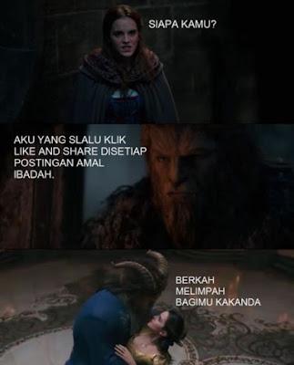 10 Meme 'Beauty and The Beast' Ini Kocaknya Nampol Banget