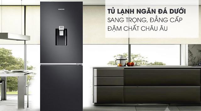 Tủ lạnh hai cửa Ngăn Đông Dưới 277L (RB27N4180B1/SV)