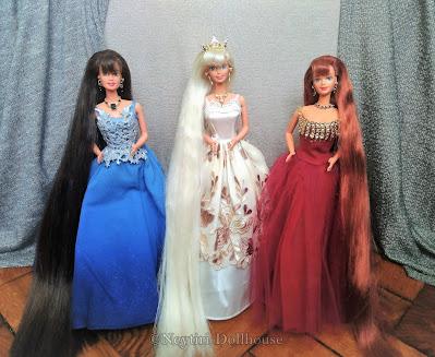 Mattel Jewel Hair Mermaids Barbie Teresa Midge doll