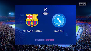 التشكيلة المحتملة لبرشلونة و نابولي اليوم في دوري أبطال أوروبا