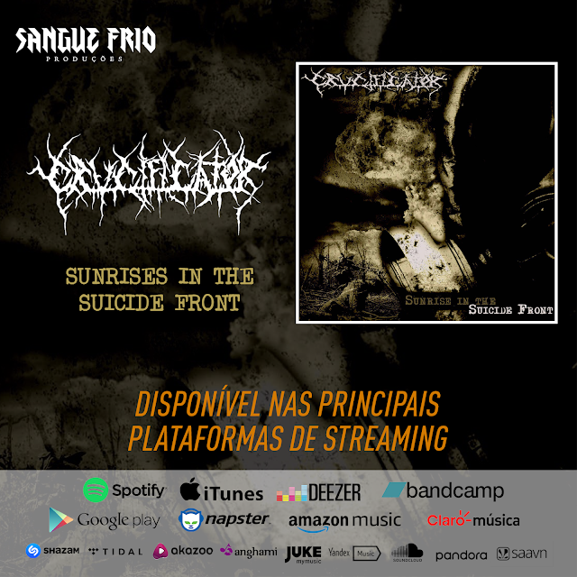 "Crucificator: ouça agora ""Sunrise In The Suicide Front"" nas principais plataformas de streaming"