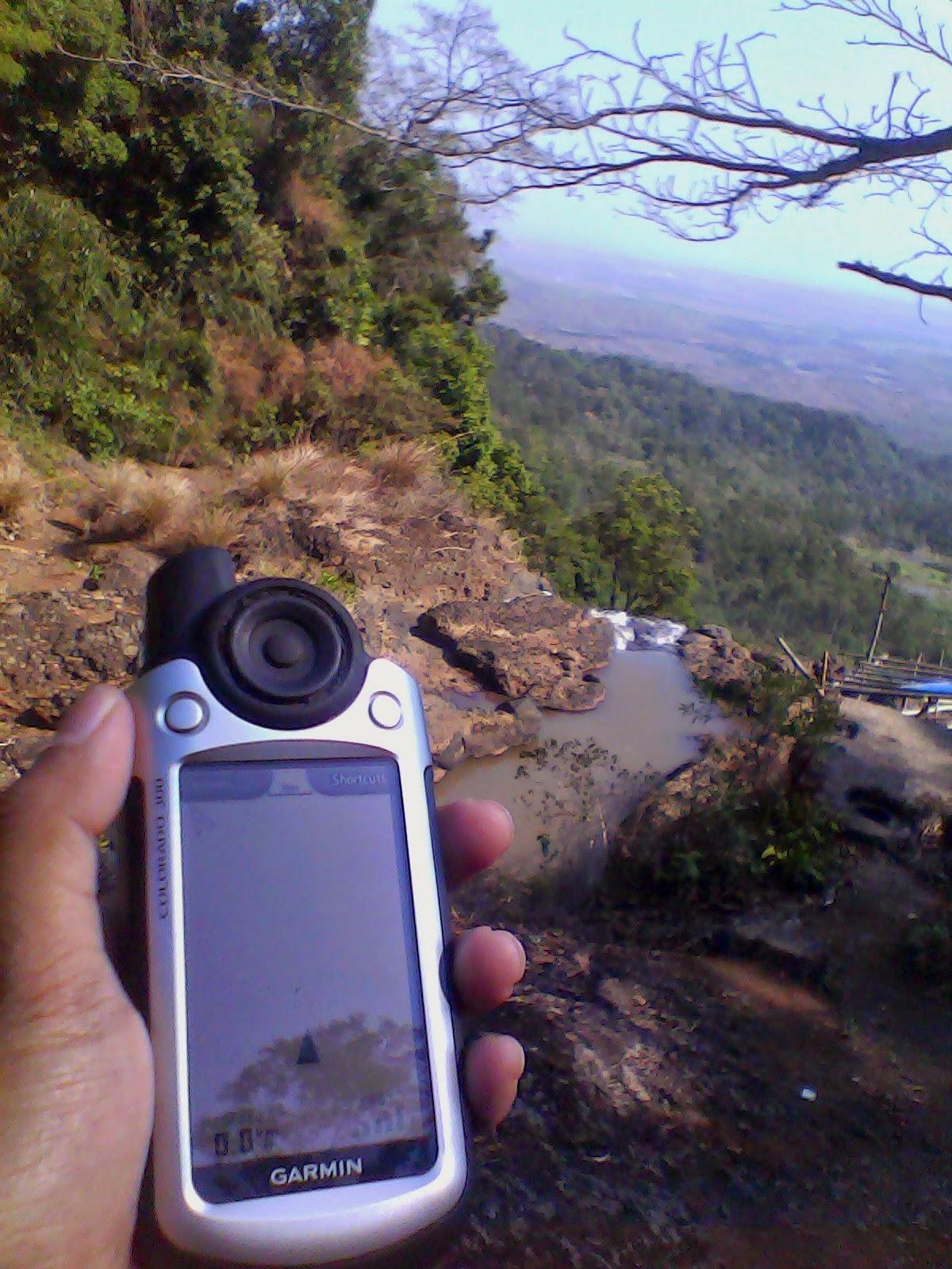 tracklog mendaki gunung