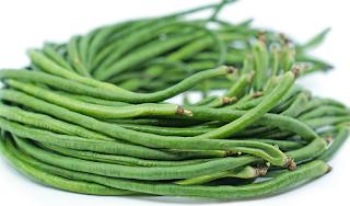 sayuran dimakan mentah kacang panjang