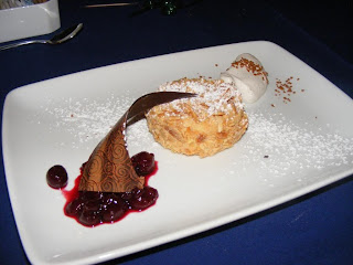 Almond Crusted Cheesecake-  Narcoossee's 2