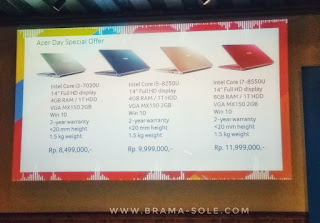 spesifikasi acer swift 3