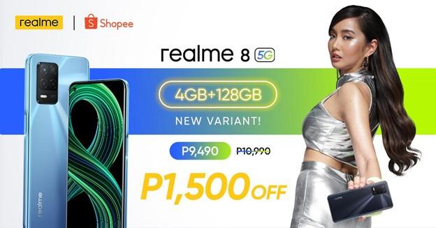 realme 8 5G 4GB+128GB variant