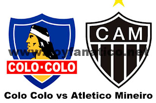 Partido Colo Colo vs Atletico Mineiro 2016