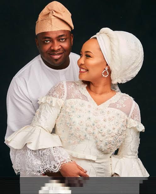 Oba-Elegushi-Celebrates-1st-Wedding-Anniversary-With-His-Second-Wife-Teelamford
