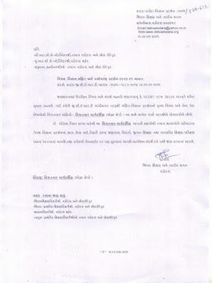 Ganit- Vigyan ane Paryavarn  Pradarshan 2020-21 Babat latest gr