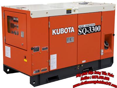 Máy phát điện Kubota 30kva SQ-3300