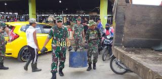 Danrem 042 Gapu Kerahkan Pasukan Ke Angso Duo Kota Jambi.