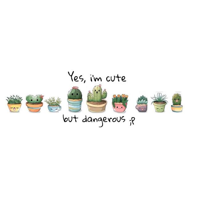 """Kaktus mini tampak mungil dan cantik, namun juga bisa """"mneggigit"""" ketika ia merasa diganggu. Biarkan ia tumbuh indah dengan tenang. Sama seperti gadis yang mengenakan anting cactus series, manis-manis juga bisa """"menggigit"""" ketika diganggu.  Tunjukkan siapa dirimu dengan mengenakan tema anting seri kaktus ini."""
