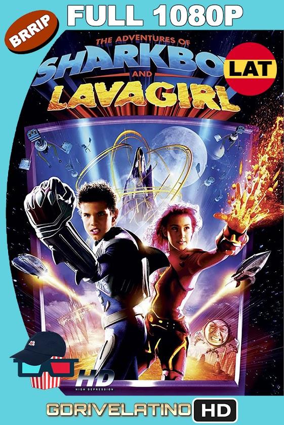 Las Aventuras de Sharkboy y Lavagirl (2005) BRRip 1080p Latino-Ingles MKV