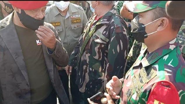 Jenderal Gatot Bersitegang dengan Dandim di TMP Kalibata, Pendemo Nyaris Babak-belur