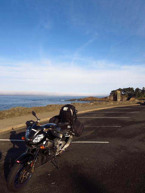 Aprilia Tuono Oregon Coast
