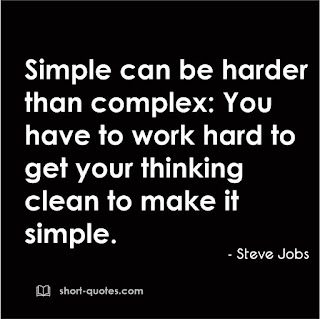 simple can be harder quote