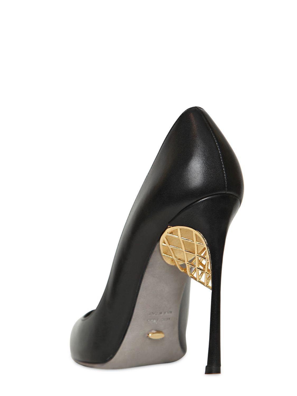 ad0027cfdca Sergio Rossi Armor Black Leather - Reed Fashion Blog
